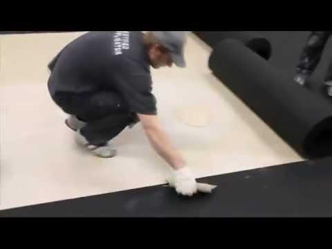 EPI Sports & Rubber installation of polyurethane indoor sport floor