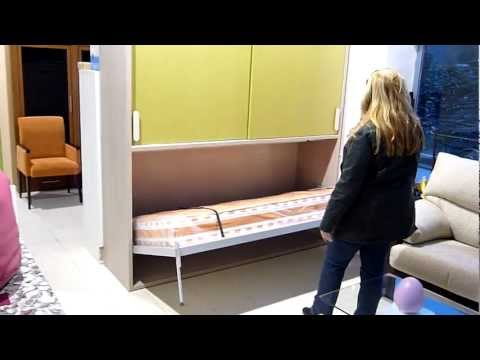 Cama abatible horizontal econ mica doovi for Muebles mariano
