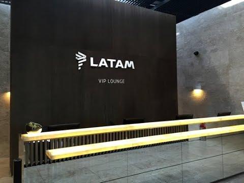 Latam Lounge Miami International Airport Walkthrough Priority Pass