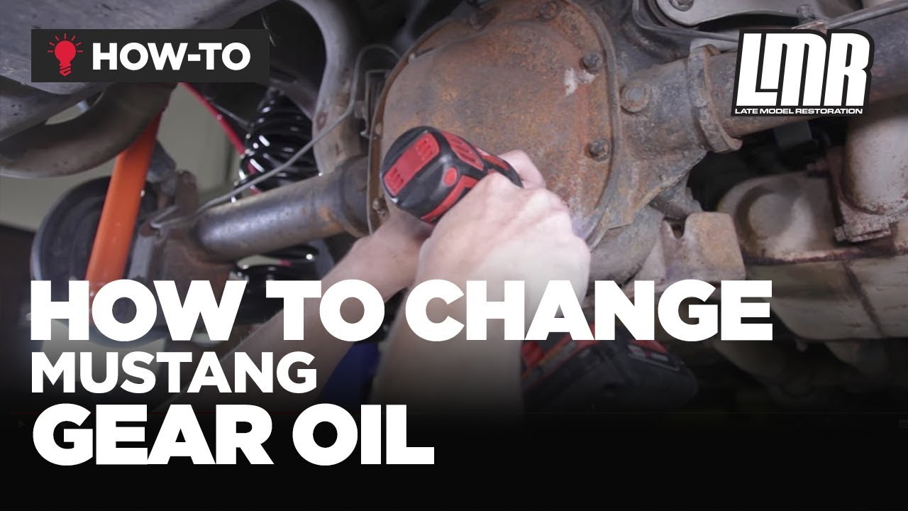 How To Change Mustang Rear End Gear Oil Lmr Basics Youtube 88 Fuel Filter Location