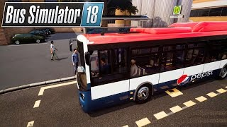 Bus Simulator 18 #16 Neue Werbung - neues Glück! ☆ Let's Play Bus Simulator 2018