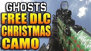 "Call of Duty: Ghosts - FREE CHRISTMAS CAMO! ""Holiday Sweater"" (COD Ghost Multiplayer Weapon Gun DLC)"