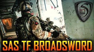 SAS TASK FORCE BROADSWORD : OPERATION STONE BREAKER Featuring SWAMP SNIPER- SPARTAN117GW