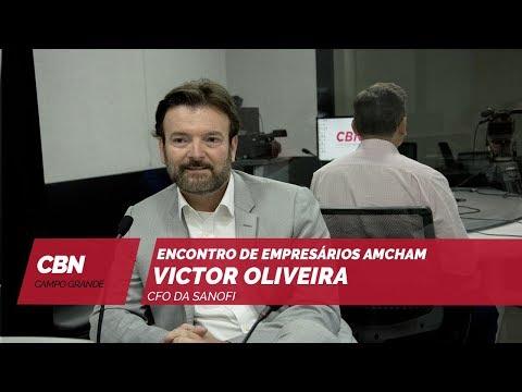 Entrevista CBN Campo Grande: CFO da Sanofi Brasil, Victor Oliveira