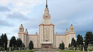 видео Сталинские высотки в москве