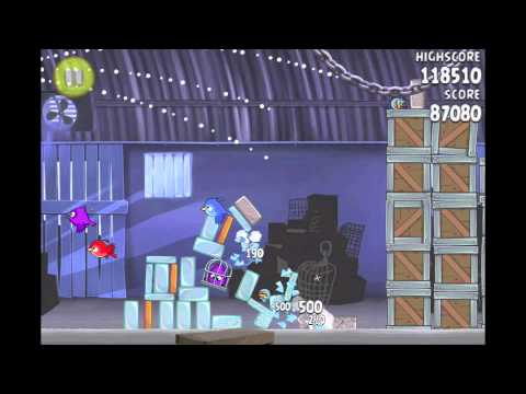 Angry Birds Rio Pineapple #4 Walkthrough Level 8 (1-8)