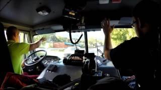 BVFD Ladder 3 Responding 9/23/15, (Ride Along)