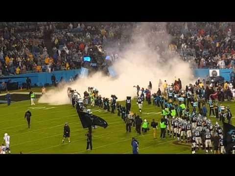 Carolina Panthers entrance