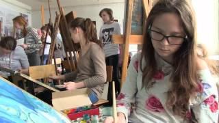 В УлГУ состоялся открытий конкурс по рисунку и живописи(В этом году в очном открытом конкурсе по рисунку и живописи приняли участие 326 человек со всей Ульяновской..., 2016-03-28T05:42:15.000Z)