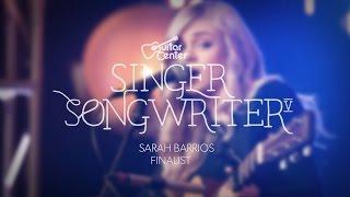 Singer-Songwriter finalist Sarah Barrios performs her two original ...