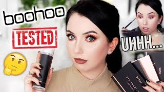 BOOHOO MAKEUP?! Everything under $5! First Impressions