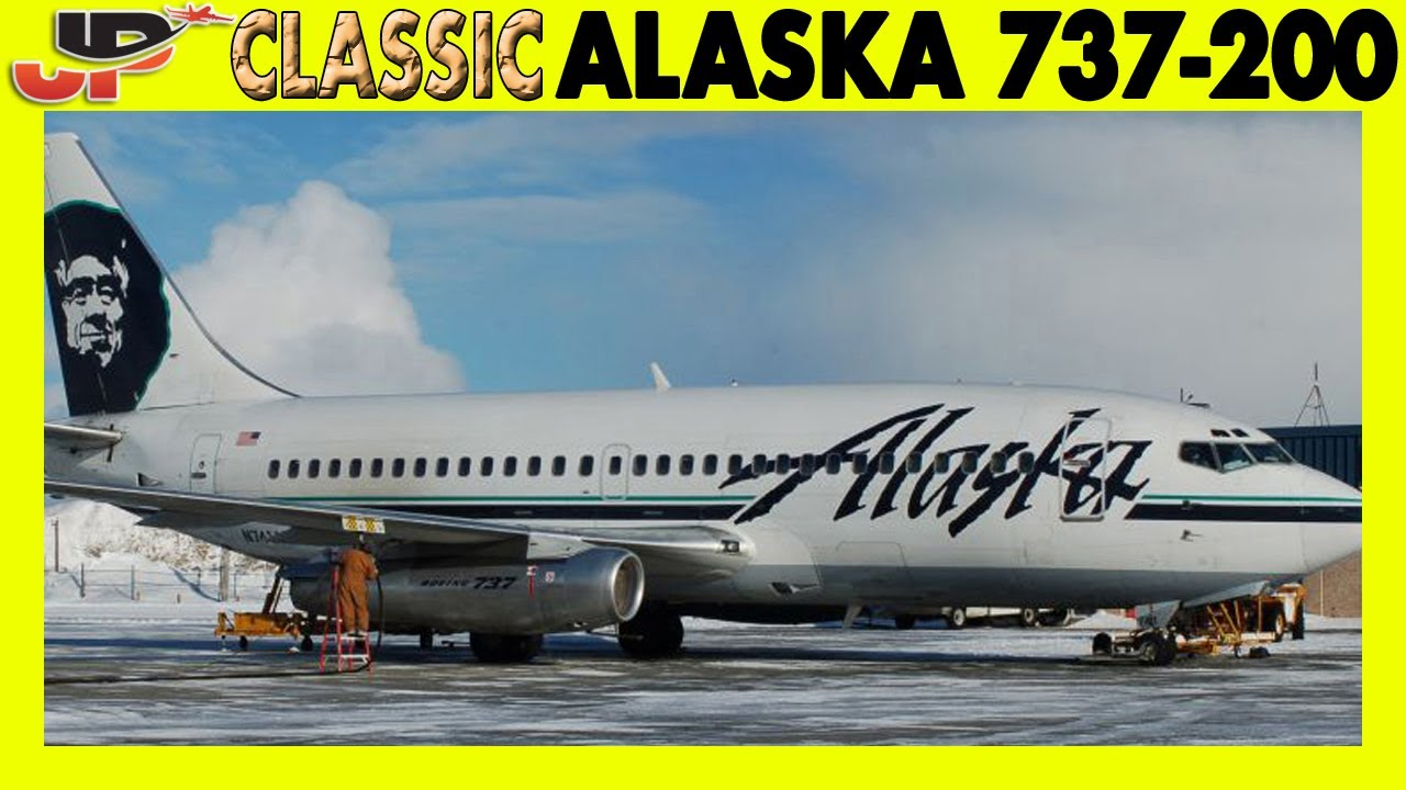 Piloting ALASKA Boeing 737-200  to Aleutian Islands (2006) | Cockpit Views