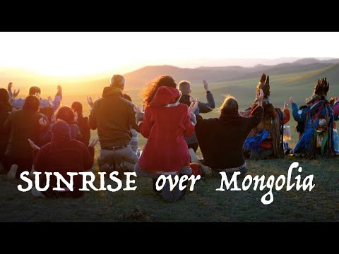 Sunrise Ceremony In Mongolia By Mongolian Shaman Byampadorj Dondog | Summer Solstice Ceremony 2019