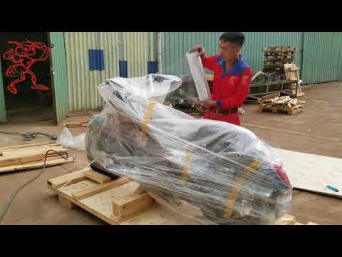 Quy Trình đóng Gói Xe Máy Chuyên Nghiệp | CT TNHH VẬN CHUYỂN KIẾN ĐỎ