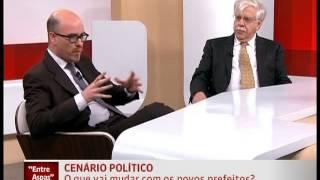 Entrevistadora da Globonews briga com entrevistado
