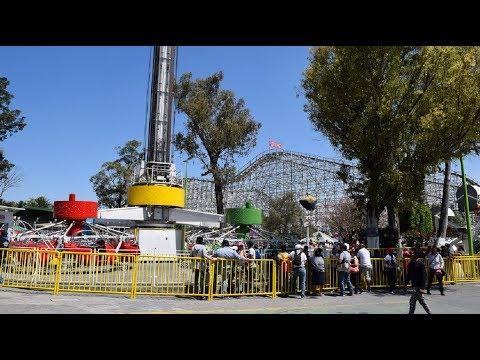 Los Nuevos Juegos Que Llegaran A La Feria De Chapultepec Youtube