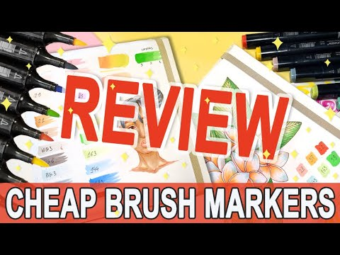 Touch New Brush Markers Review | Unboxing \u0026 First Impression