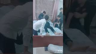 action of funny video