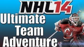 "NHL 14: Ultimate Team Aventure #1. "" TONS Of Packs, 5 Star Team!"""
