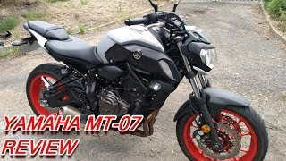 ★ 2019 YAMAHA MT-07 REVIEW ★