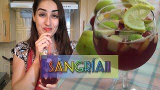 Traditional sangria  Spanish recipes with Sofia