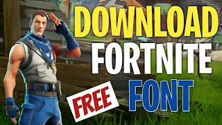 How To Download FORTNITE FONT | Shayan tech