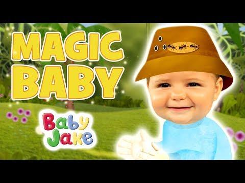 Baby Jake - Magic Baby | Full Episodes | Yacki Yacki Yoggi | Cartoons for Kids