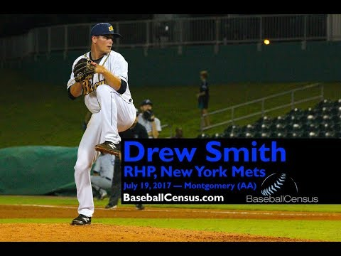 Drew Smith, RHP, New York Mets — July 19, 2017