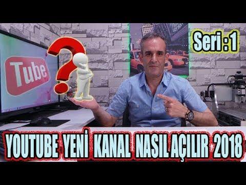 Youtube Kanal Açma 2018 Güncel ☼ Bunları Biliyormusunuz?