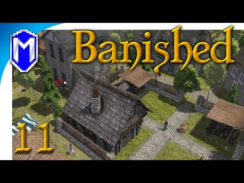 Banished - Baby Boom, Population Explosion - Let's Play Modded Banished Gameplay Part 11
