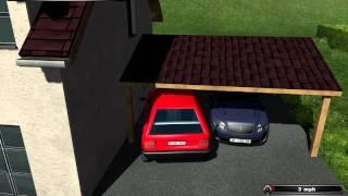 Farming Simulator 2011 How to get in house tutorial Glitch+Car mod