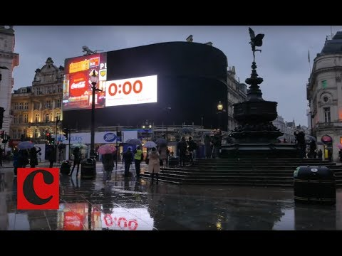 Lights out for Piccadilly Circus Giant Billboard