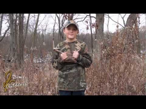 Paulie Shoops first Whitetail Buck Story 2012 Rifle Season