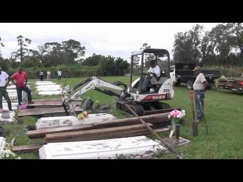 Gifford Cemetery vaults reburied