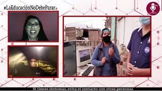 Tema: ¡Tinnitus Perú dona computadoras a bajo costo y escudos faciales!