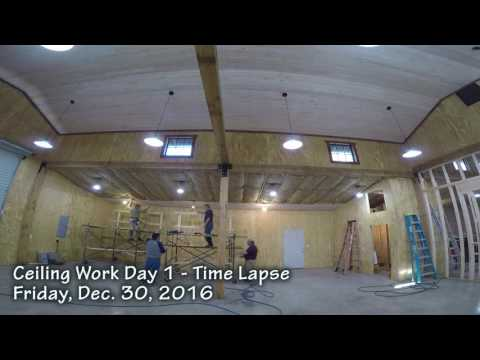Shop Work Days: TIme-Lapse