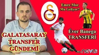 Galatasaray Transfer Gündemi: Éver Banega ve Emre Mor Transferi; Diagne Satışı