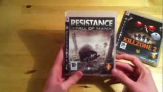 Resistance & Killzone 2 Unboxing German/Deutsch HD