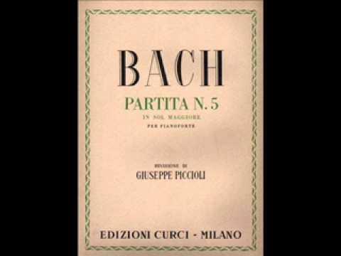 J. S. BACH - Partita n. 5 in G Major BWV 829. A. Schiff, piano