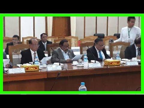 Bangladesh, myanmar is likely to sign a memorandum on computer repatriation on thursdayUs news-