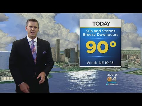 CBSMiami.com Weather 9/22 1 PM