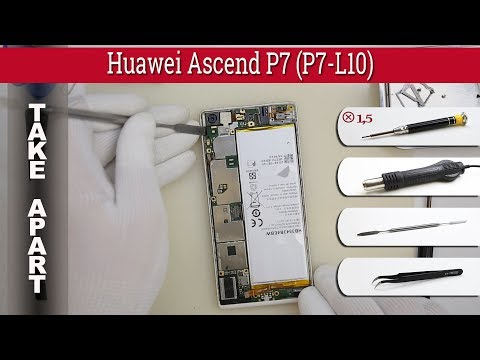 How to disassemble 📱 Huawei Ascend P7 (P7-L10) Take apart Tutorial