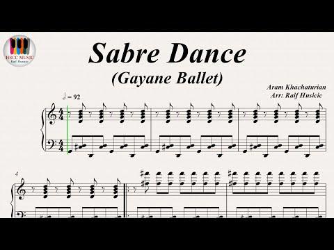 Sabre Dance (Gayane Ballet ) - Aram Khachaturian