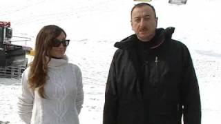 İlham Əliyevin Şahdağ kompleksinin kanat və xizək enişinin açılışında nitqi. 27.02.2011