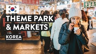 SURPRISES IN SOUTH KOREA ??| Lotte World & Gwangjang Market | Seoul Travel Vlog