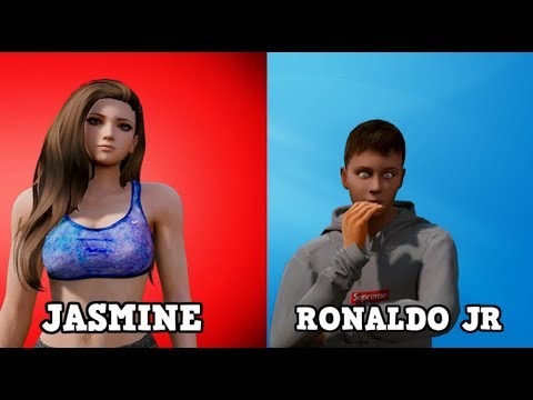 GTA 5 MOD VITA REALE DA BAMBINO #57 - INTERVISTA DOPPIA! JASMINE & RONALDO JR!!!