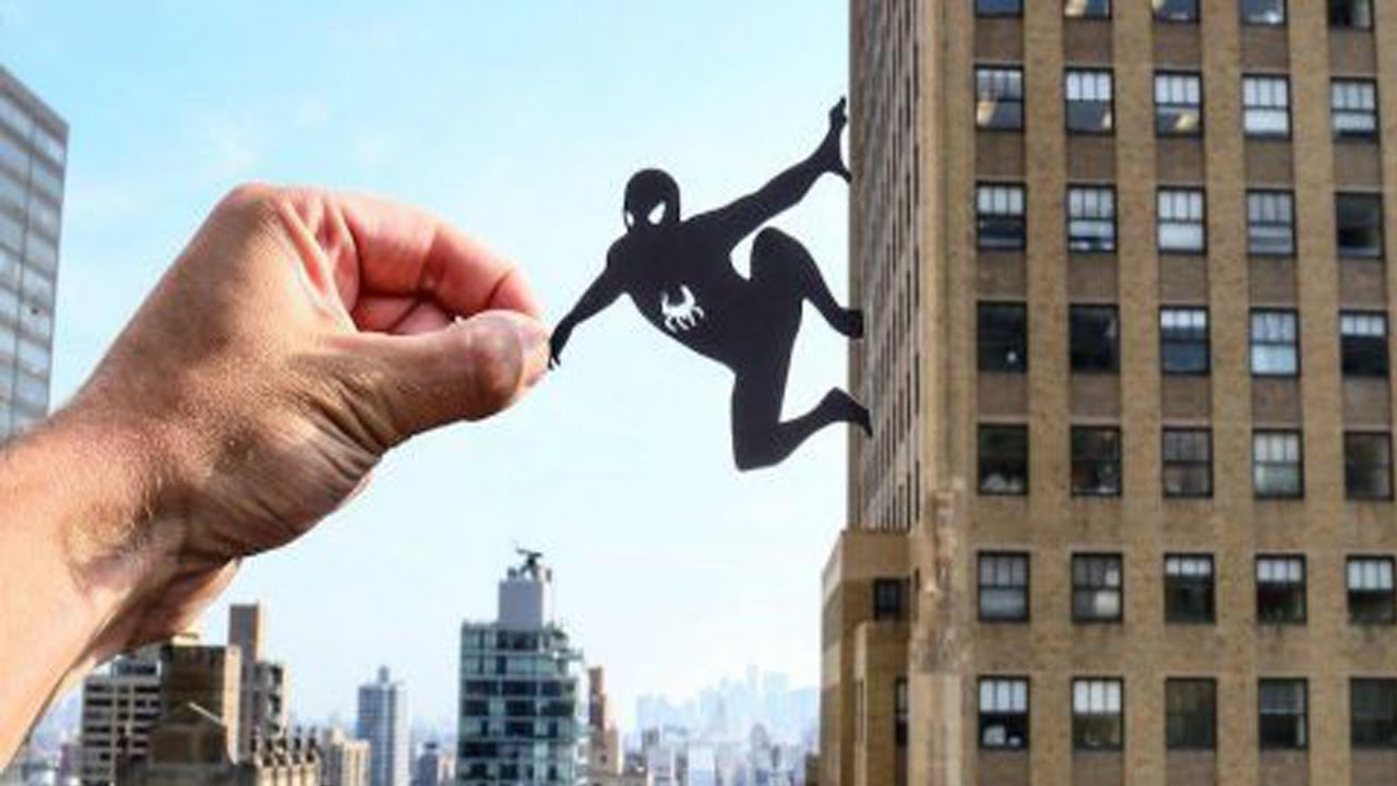 Amazing Paper Cut Art on Famous Structures - YouTube