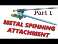 Metal Spinning Attachment for the Lorch Lathe