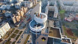 Красивая выездная регистрация брака на крыше Красноярск 8(902)9905058