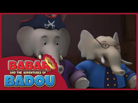 Babar And The Adventures Of Badou | Babar The Pirate/ Stripes Vs. Scales - Ep.  38